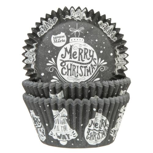 HoM Cupcake vormpjes Kerstbal 50st