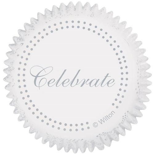 Wilton Cupcake vormpjes Celebrate 75st
