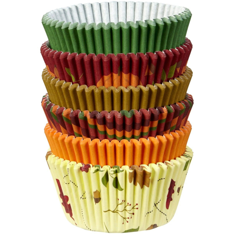 Wilton Cupcake vormpjes Autumn 150st