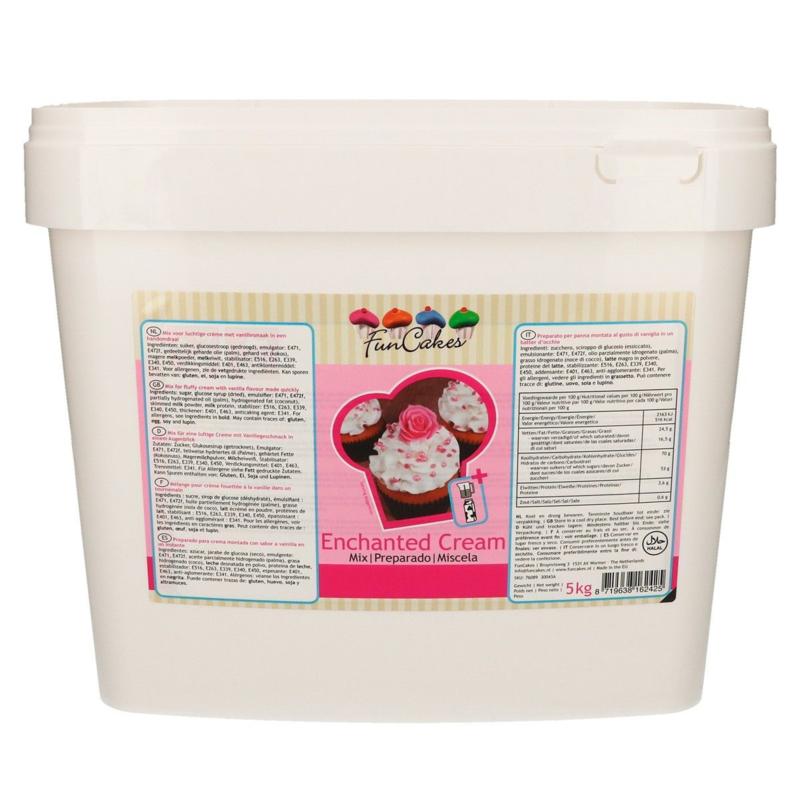 FunCakes Enchanted Cream 4,5kg emmer