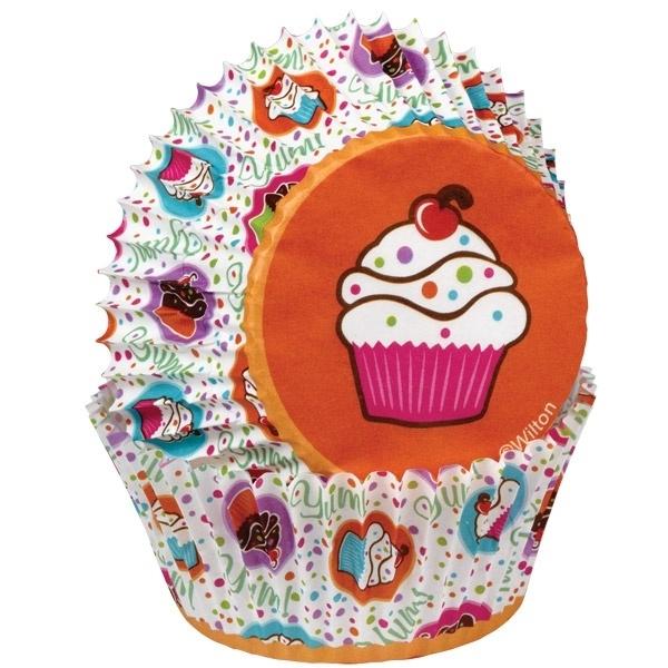 Wilton Cupcake vormpjes Cupcake Party 75st