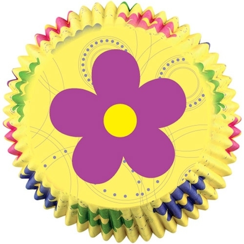 Wilton Cupcake vormpjes Dancing Daisy Flowers 50st