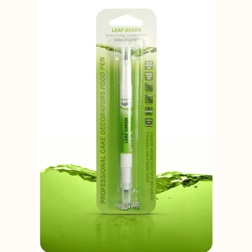 RD Double Sided Food Pen Leaf Green