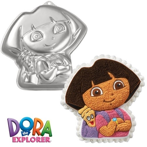 Wilton bakvorm Dora the Explorer