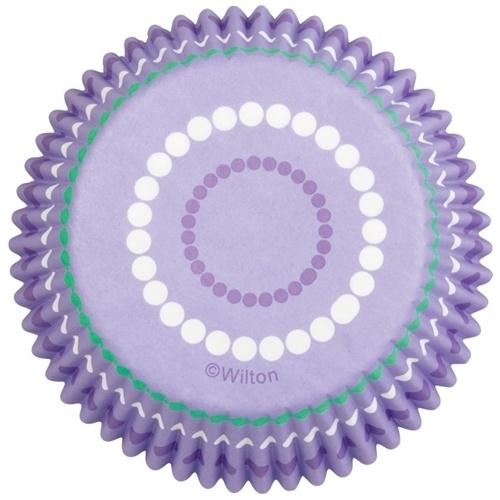 Wilton Cupcake vormpjes Dotted ring 75st