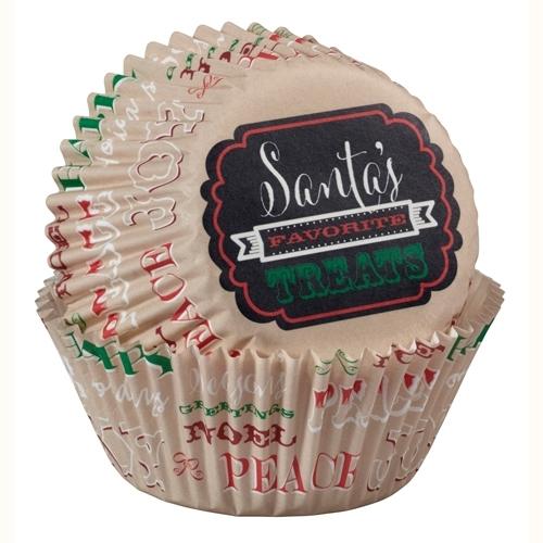 Wilton Cupcake vormpjes Holiday Sweet Swap 75st