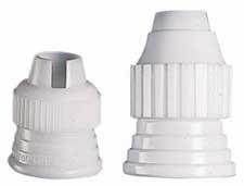 Wilton koppelring met adapter voor icing tube en spuitzak