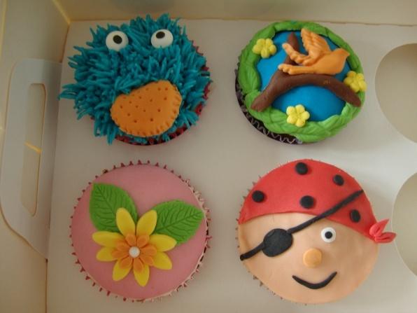 Piraten cupcakes piraten
