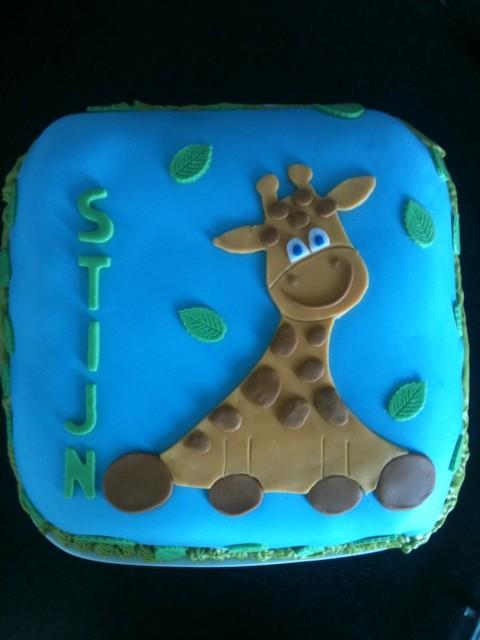 taart giraf