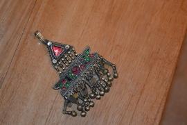 Tribal ornament - Driehoek met rechthoek.