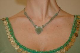 Jade halsketting