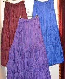 Rok tribal - tribalskirt. Diverse kleuren