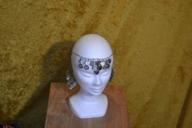 Munthaarversiering zilver
