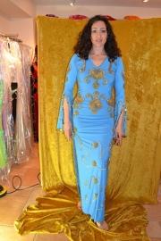 Baladi jurk turquoise