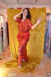Baladi jurk - kleine pailletten