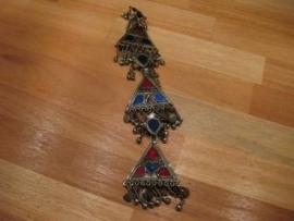 Knoopsgatversiering van driehoeken, tribal
