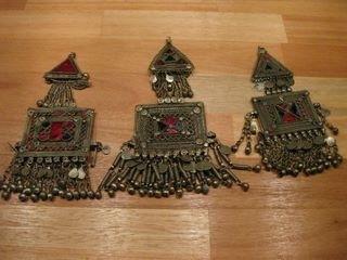 Tribal ornamenten B - vierkant met driehoek