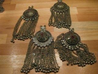 Tribal ornamenten A - rond met kettingfranje