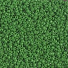Miyuki Rocailles 11-0411 Jade Green Opaque - 10 gram