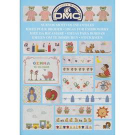 DMC Borduurboekje  BABY/KINDER MOTIEVEN 1