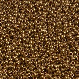 Miyuki Rocailles 11-0457L Light Bronze Metallic - 10 gram
