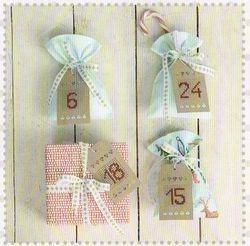 Label creme om te borduren - Afmeting 6 x 10,5 cm