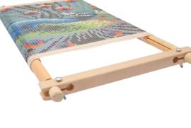Houten borduurframe 38  x 22 cm