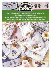 DMC Borduurboekje  BABY/KINDER MOTIEVEN 4