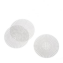 Plastic Stramien ROND 7.6 cm
