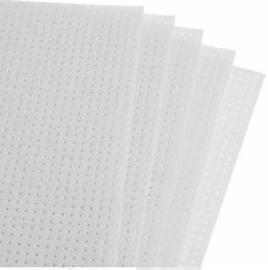 Borduurvilt WIT - afmeting 21 x 29,7 cm