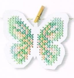 2 Vlinders en 6 Eieren om te borduren