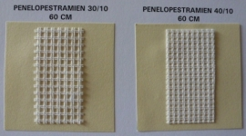 Penelope stramien 30/10 (3 gaatjes per cm)