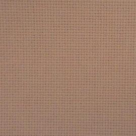 Aida 14 count Milk Chocolate - afmeting 100 x 130 cm