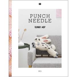 Boek Punch Needle BUNNY SHOP van Rico