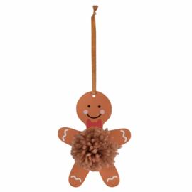 Pom Pom Kit Peperkoek mannetje 12 x 8.5 cm