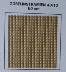 Gobelin stramien 40/10 (4 gaatjes per cm)
