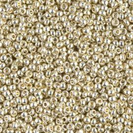 Miyuki Rocailles 11-4201 Silver Duracoat Galvanized - 10 gram