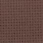 Aida 14 count Chocolade Bruin - afmeting 100 x 130 cm