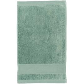 Gastendoekje OUD GROEN - afmeting 30 x 50 cm