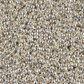 Miyuki Rocailles 11-1051 Galvanized Silver - 10 gram
