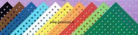 Gekleurd borduurkarton 10 stuks