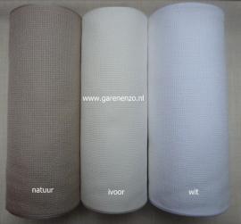 Aida borduurband WIT 20 cm breed - per 10 cm