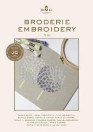 DMC borduurboek EMBROIDERY ( met de 35 nieuwe kleuren )