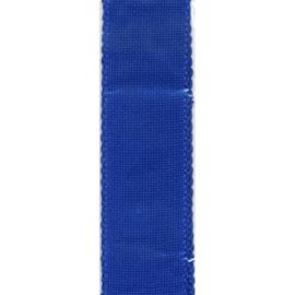 Aida borduurband Koningsblauw 5 cm breed
