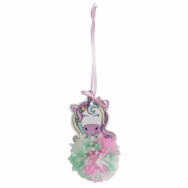 Pom Pom Kit Unicorn 10 x 5 cm