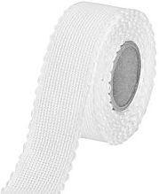 Restje Aida borduurband Wit 8 cm breed x 74 cm