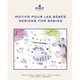 DMC borduurboek DESIGNS VOOR BABY'S