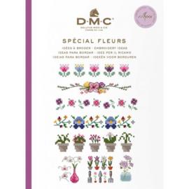 DMC Borduurboekje  SPÉCIAL FLEURS