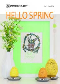HELLO SPRING - Zweigart no. 104/309