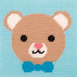 BEER  borduurpakket 15 x 15 cm (Anchor)